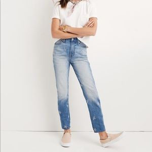 Madewell Perfect Summer Jean Daisy Edition